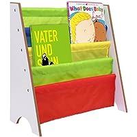 Vividy Kids Book Storage Shelf (White)