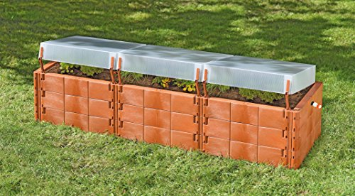 Exaco Trading Company Triple Box 20374 Raised Bed with Cold-Frame by Exaco Trading Company (Image #5)