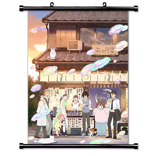 - March Comes Like a Lion (Sangatsu no Raion) Anime Fabric Wall Scroll Poster (16x23) Inches
