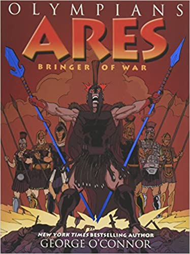 amazon com olympians ares bringer of war 9781626720138 george