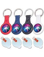 AirTag Key Ring - New Air Tag Holder and Airtag Protective Film Bipidiqi
