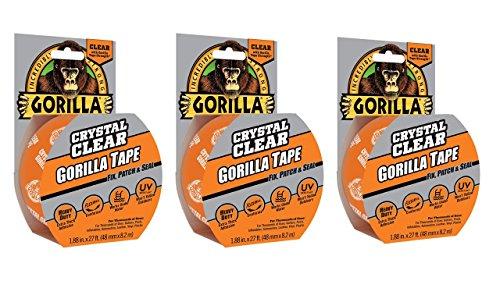 Gorilla Clear Repair, 9-Yard Roll