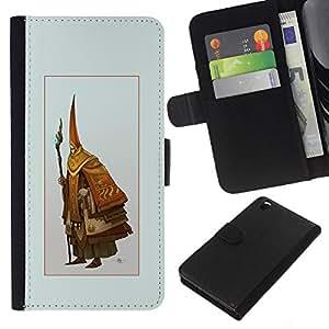 JackGot ( Asistente Viejo ) HTC DESIRE 816 la tarjeta de Crédito Slots PU Funda de cuero Monedero caso cubierta de piel