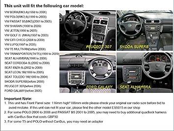 Erisin ES7986V 7 Pulgadas Android 9.0 para Volkswagen VW Golf ...