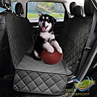 Dog Seat Covers with Side Flap, Non Slip|Waterproof Pet Travel Hammock Car Seat Protector, Durable and Machine Washable...
