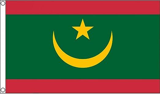 AZ FLAG Bandera de Mauritania 90x60cm - Bandera MAURITANA 60 x 90 ...