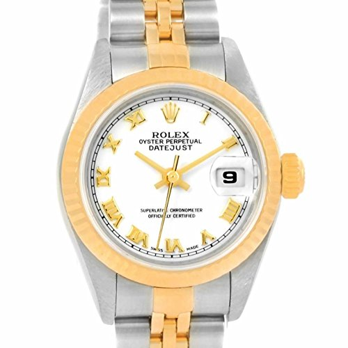 Wind Rolex Watch (Rolex Datejust automatic-self-wind womens Watch 79173 (Certified)