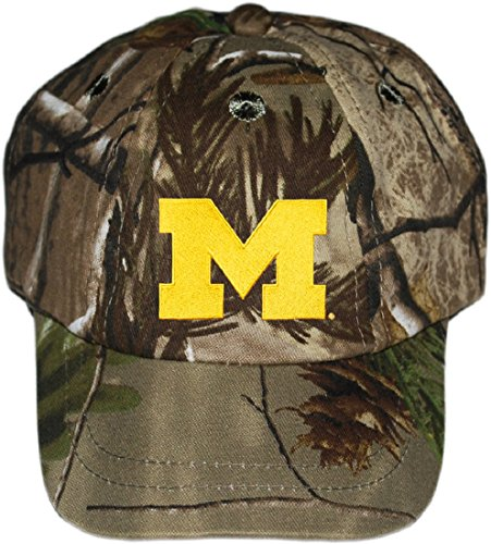 Michigan Wolverines Block M NCAA Realtree Camo Infant Newborn Toddler Baby Hat Cap - Ncaa Infant Wool
