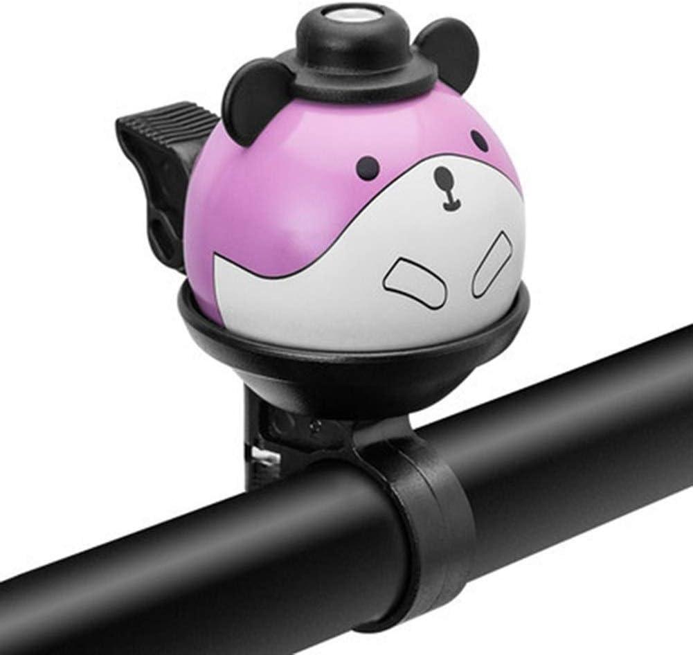 Cuerno de bicicleta Bell de la bicicleta anillo encantador for niños plegables mini historieta de la panda campanas for el ciclismo bicicleta de aleación de aluminio de Bell del manillar Anillos Para