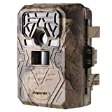 [2017 May New] Trail Camera -Ancheer 12MP 1080P 75feet GPS Wildlife Hunting Motion Activated Game Camera Time Lapse with Metal Band Lock