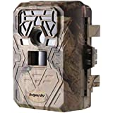 yuser 2018 Version Trail Camera 16MP 1080P Wildlife Game Camera 120° PIR Angle, 0.2s Trigeer Time, 65ft Infrared Camera Motion Activated with Night Vision, 2.4 LCD, IP65 Waterproof