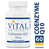 Vital Nutrients - CoEnzyme Q10 100 mg - CoQ10 - Potent Antioxidant and Free Radical Scavenger - 60 Capsules