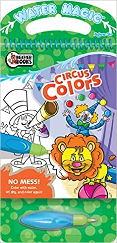 Buy Circus Colors (Water Magic) Book Online at Low Prices in ...