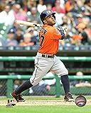 """Jose Altuve Houston Astros 2015 MLB Action Photo (Size: 8"""" x 10"""")"""