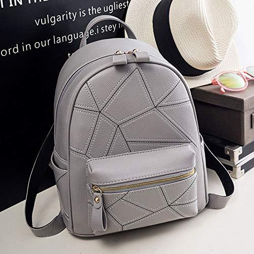 Small Signore Casuale Gray Mini Large Zaino Coreana color Bag Personalità Della Marea Black Selvaggio Borsa Femminile Versione Moda wzqZF