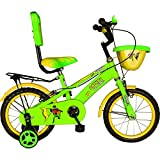 Hero Dainty 14T Single Speed Junior Cycle - Green & Yellow