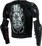 Alpinestars Unisex-Adult Bionic Tech Jacket (Black/White/Red, XX-Large)