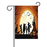 Cheap Sunlome Custom Decor Halloween Home Flags Double-Sized Print Decorative Holiday Garden Flag , 28 x 40 inches