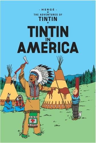 Book cover for Tintin in America
