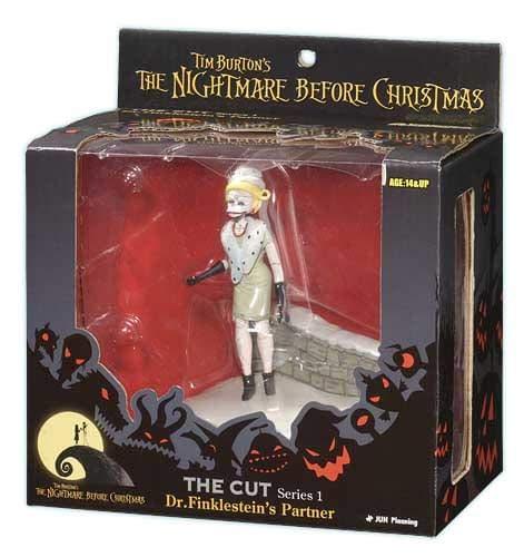 Tim Burtons the Nightmare Before Christmas the Cut Series 1 Dr Finklesteins Partner Georgetown Hobbies 895800002244 00803NBXD0003