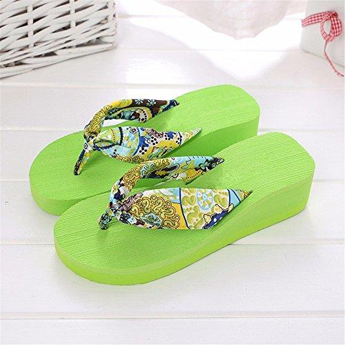 YMFIE Zapatillas de Ducha de Verano, Zapatillas de Espuma Suave, Sandalias para Piscina, Zapatos b