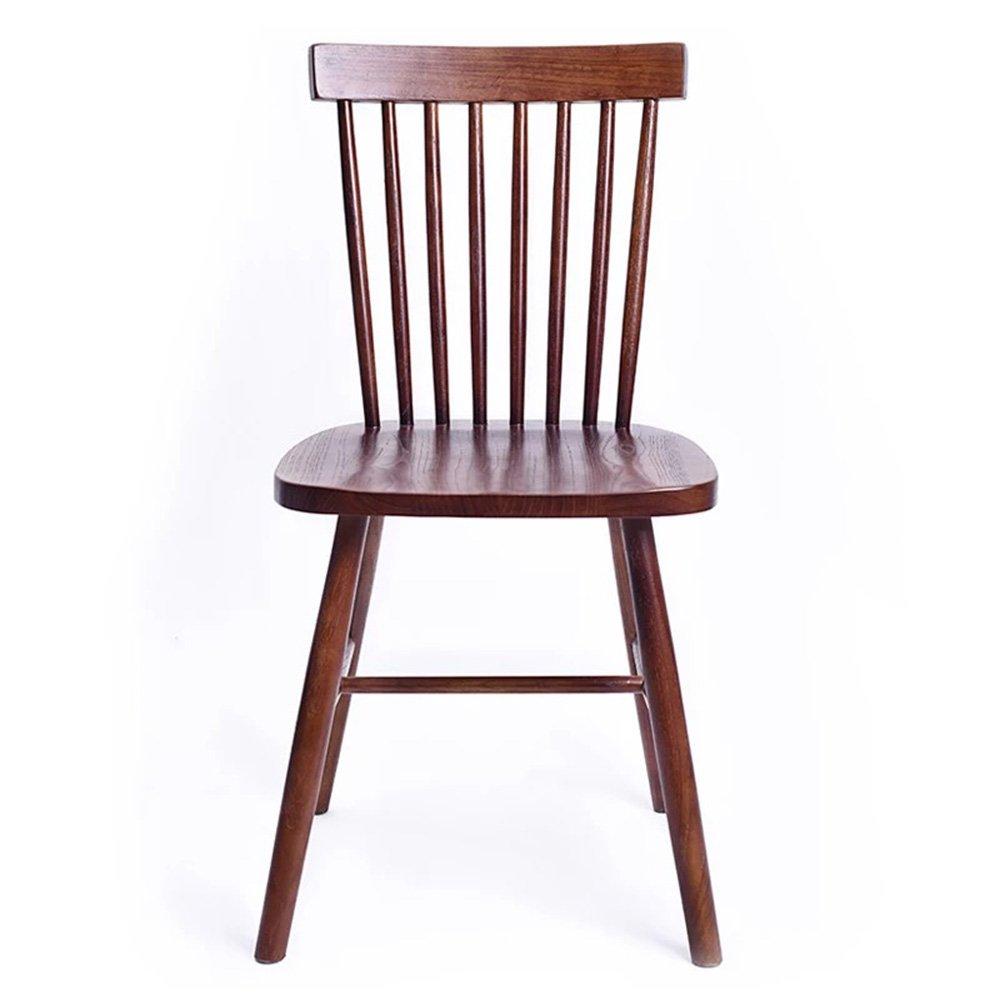 QFFL 椅子ソリッドウッドダイニングチェアホームバックレストレストランカジュアルカフェチェアデスク木製椅子9色オプション アウトドアスツール (色 : J j) B07F16PT7L J j J j