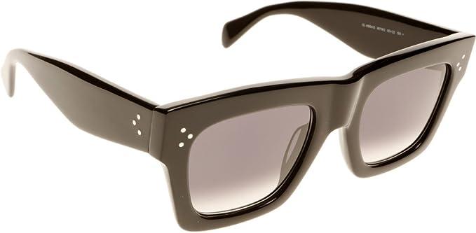 2e672bff04ede Céline Sunglasses - 41054 S   Frame  Black Lens  Dark Grey Gradient ...