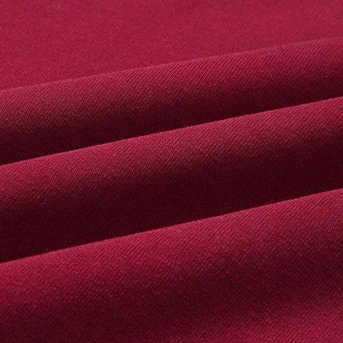 Rosso para Parka Abrigo Wawer mujer qUOPPw