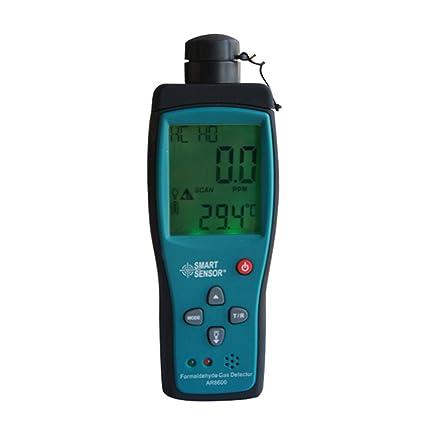 Detector de formaldehído químico de mano para uso doméstico, equipo de pruebas de calidad de