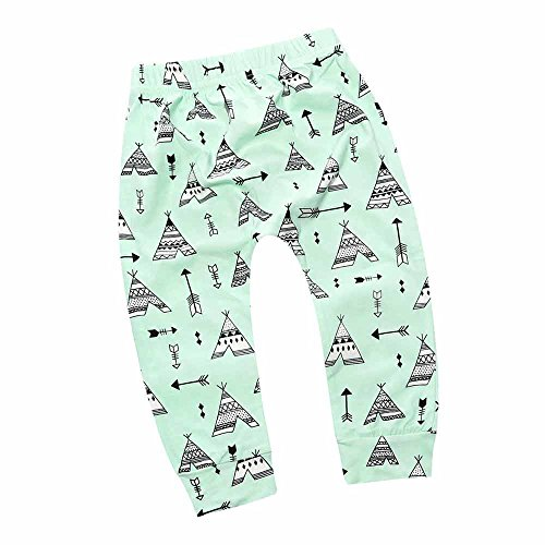 [Baby Ankle Pants Cute Fox Print for Boys Girls Outfits] (Cute Army Outfits)