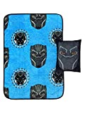 "Superhero ""BLACK PANTHER"" Plush Throw Set • 2 Pieces"