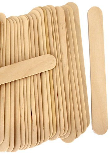 "Perfect Stix - PS-Jumbo Craft-200 6"" Jumbo Wooden Craft Sticks - Pack of 200ct"