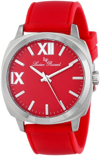 Lucien Piccard Women's LP-20032-05-RD St. Tropez Analog Display Japanese Quartz Red Watch