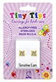 STUDEX Tiny Tips Gold Plated Cubic Zirconia Stud