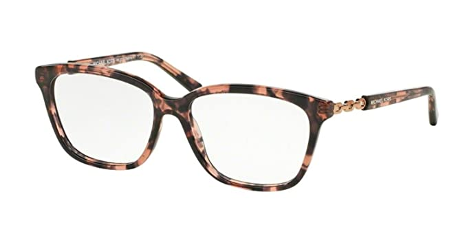 Michael Kors MK8018F Eyeglass Frames 3108-54 - Pink Tortoise/rose ...