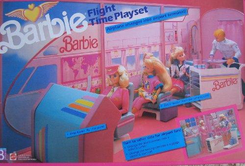 Barbie Flight Time Playset W Quot Working Quot Ticket Dispenser