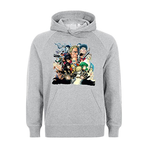 One Punch Man Series Sia All Characters Unisex Hoodie