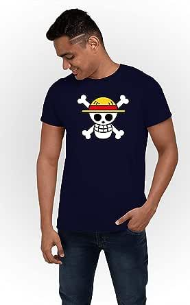 ART GALLERY MISR Blue Round Neck T-Shirt For Men - 2725601710254