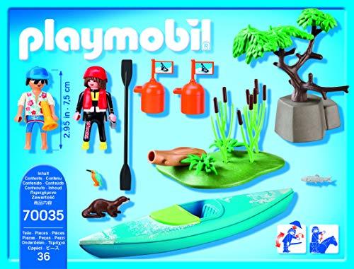 Playmobil 70035 Aventura en Canoa 4