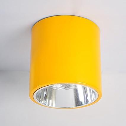 LXSEHN 8 Pulgadas LED Colorido Downlight Lámparas De Techo ...