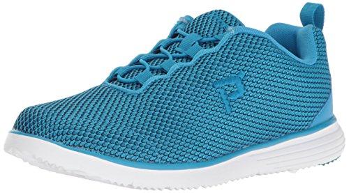 Propet Women's TravelFit Prestige Walking Shoe Blue/Black
