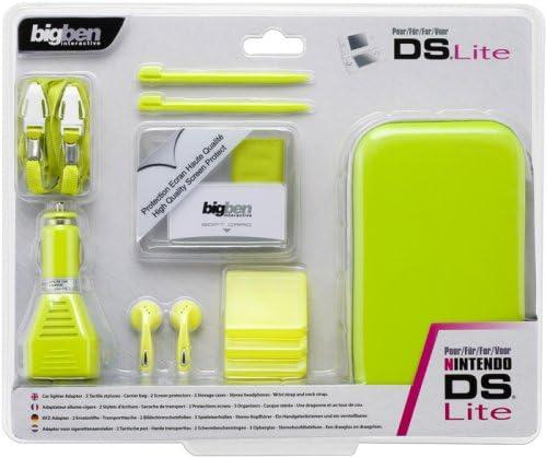 Nintendo DS lite - Travel Pack [Lemon green] [Importación alemana ...