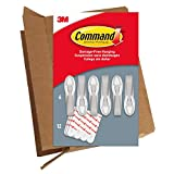 3m cable ties - Command 6 Cord Bundlers, GP304-6NA, 6 Bundlers and 12 Strips in easy to open packaging, White