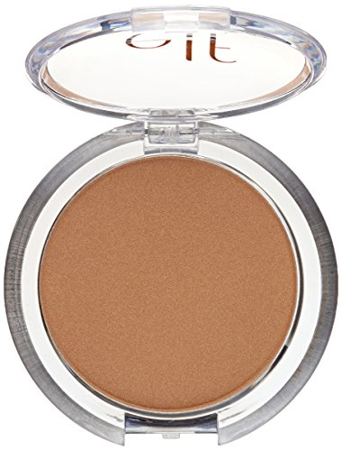 e.l.f. Cosmetics Glow Bronzer, Nourishing Shimmer Bronzer Creates a Radiant, Sun-Kissed Look, Sunkissed by e.l.f. (Image #3)