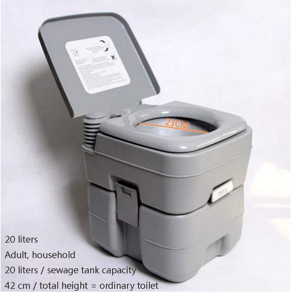 Bewegliche Anti-Schleuder- und Geruchs-Beständige Bewegliche Toilette der Beweglichen Toiletten der Älteren Frauen der Kinder WC-Stuhltoilette,A