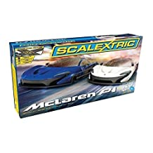 Scalextric McLaren P1 Slot Car Race Set (1:32 Scale)