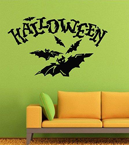 Halloween Wall Decals Decor Vinyl Stickers LM2587 -