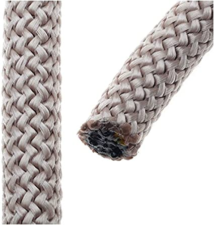 Hecho de cuerda de escalada cuerda de nailon, nudo trenzado y ...