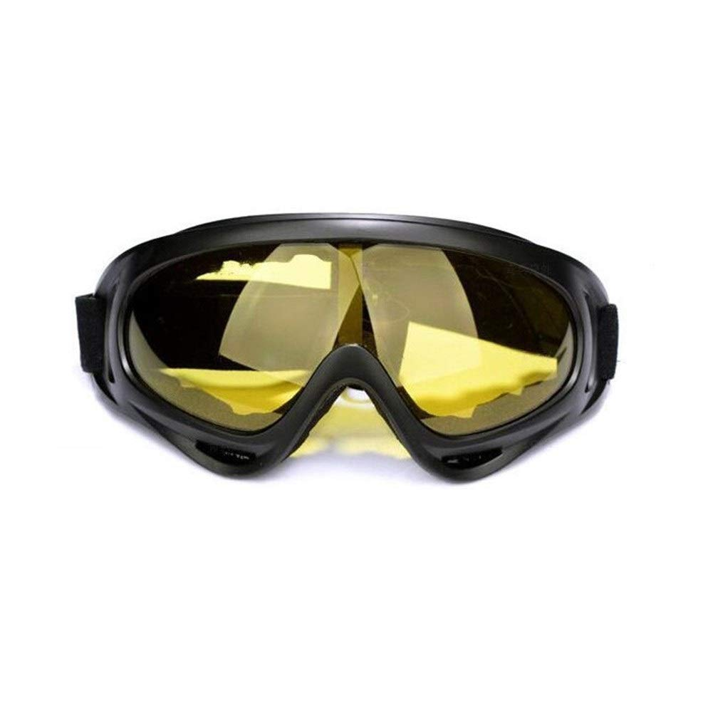 YUANYUAN521 Safety Anti-UV Welding Glasses for Work Protective Safety Goggles Sport Windproof Labor Protection Glasses Dust-Proof (Color : Yellow) by YUANYUAN521