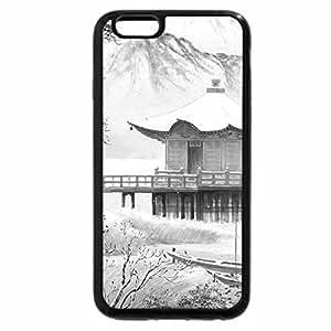 iPhone 6S Plus Case, iPhone 6 Plus Case (Black & White) - Koukei Kojima. snowy silence